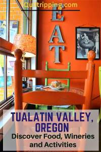 Discover great places to eat and drink on the Tualatin Valley Quilt Barn Trail #tualatinvalley #oregon #quiltbarn