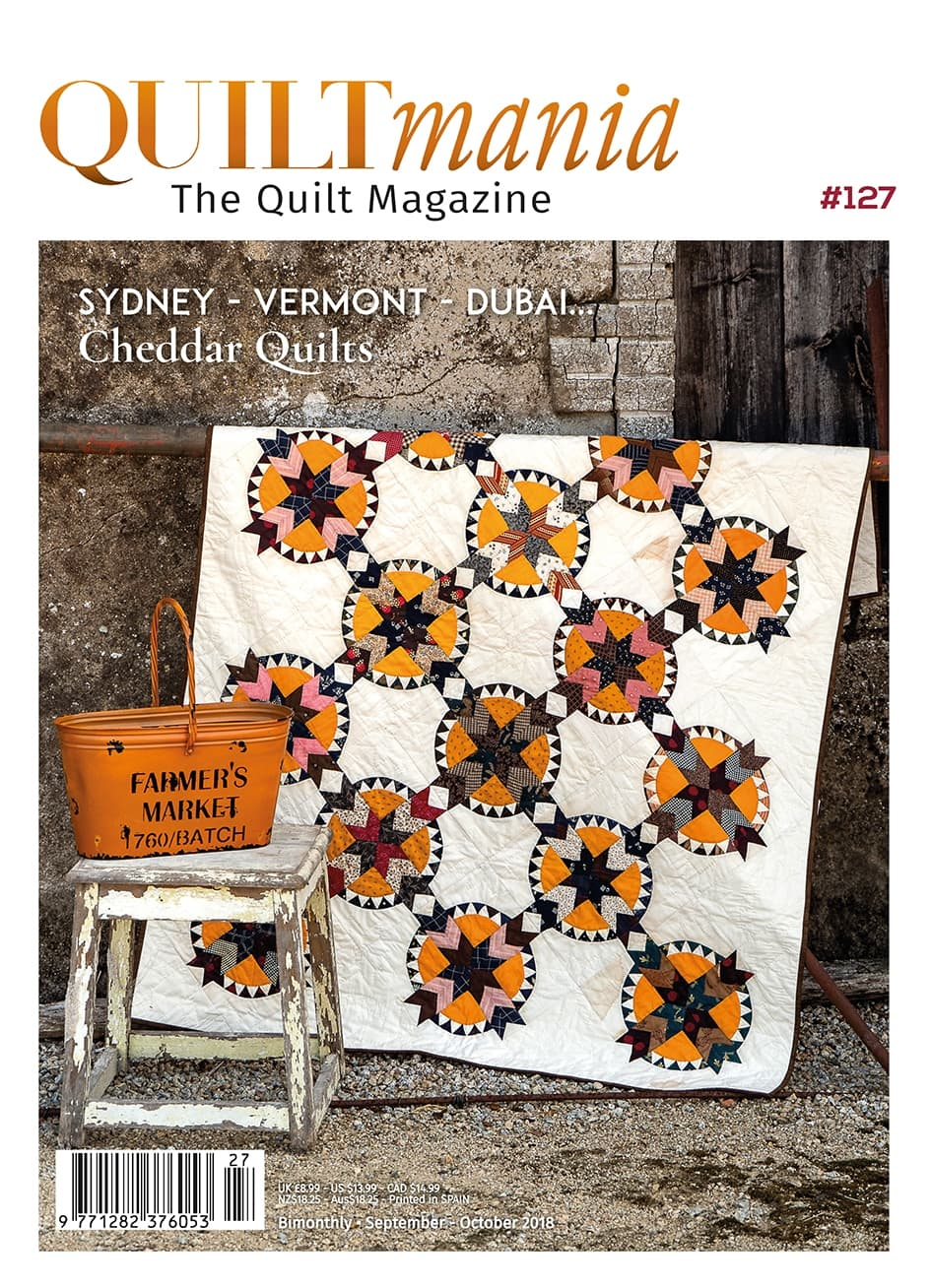 Quiltmania Sept-Oct 2018