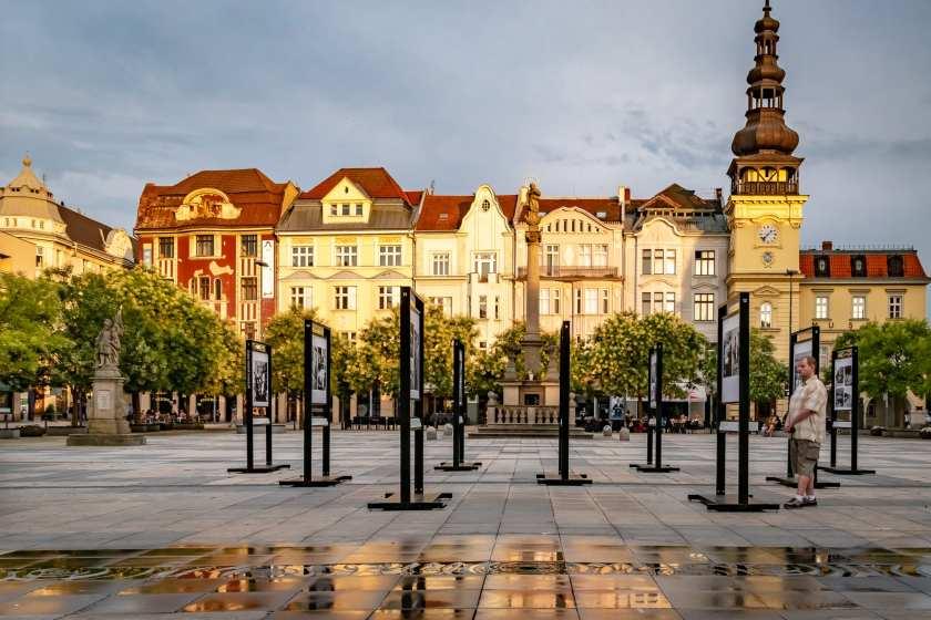 Ostrava's Masaryk Square