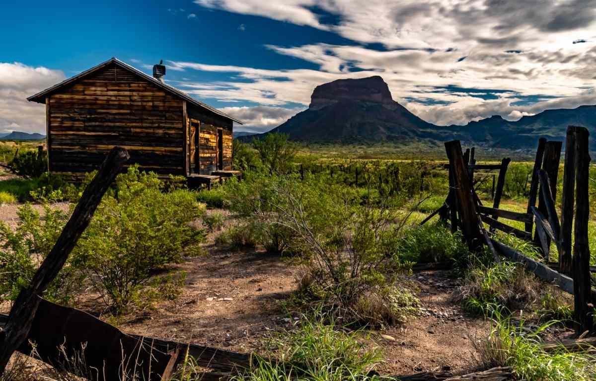 PhotoPOSTcard: The Historic Castolon District in Big Bend