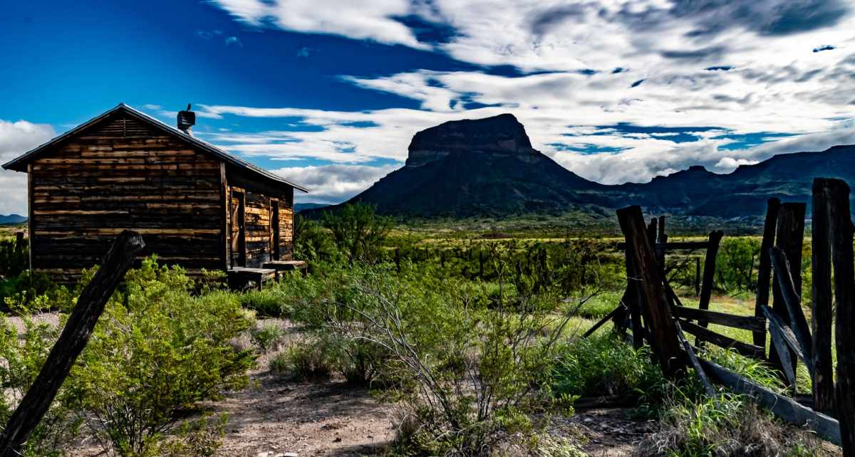 the historic Castolon District in Big Bend