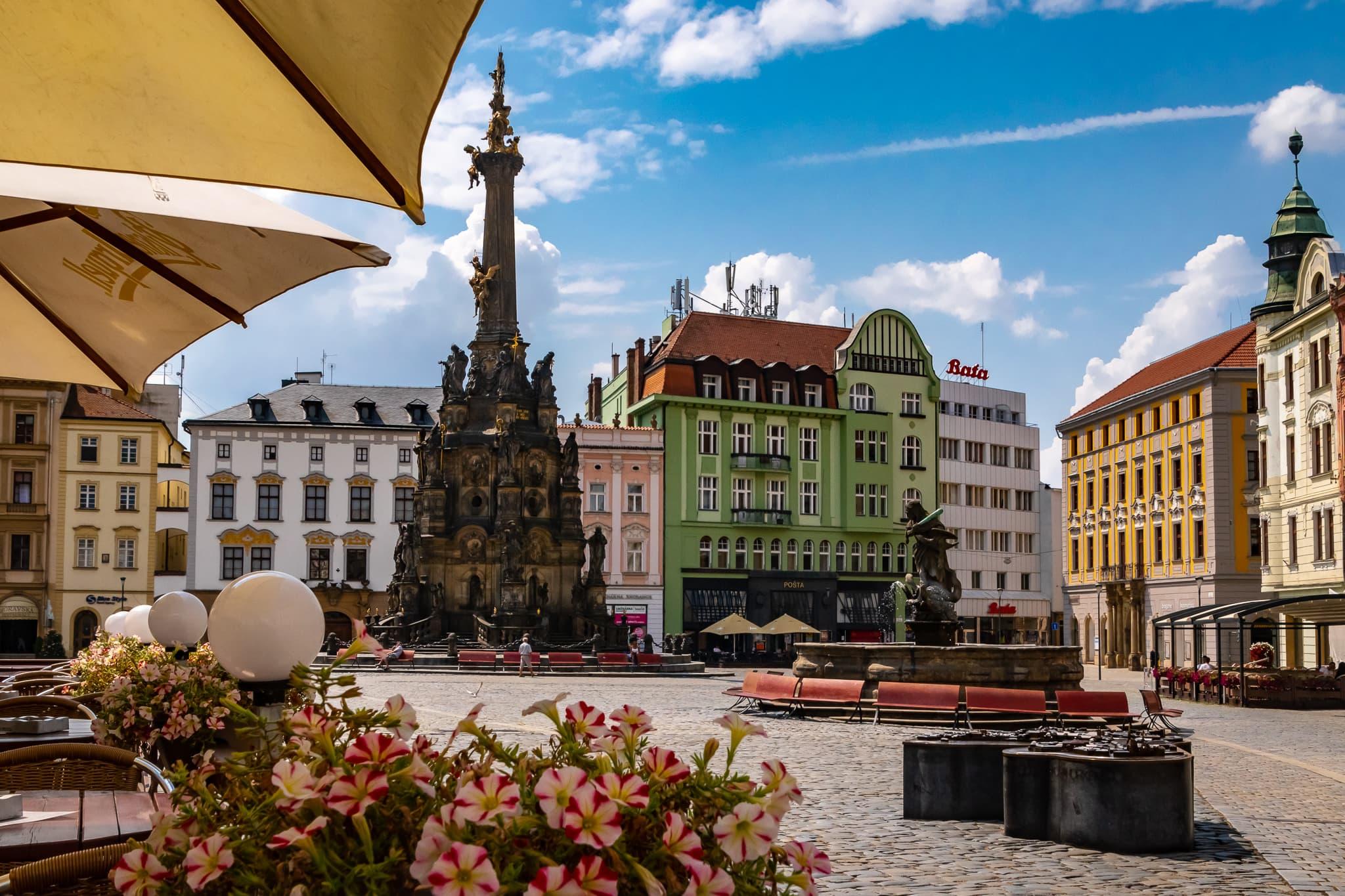 Olomouc CZ Lower town square