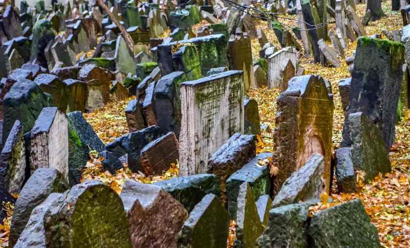 Prague's Jewish cemetery