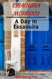 How to spend a day in Essaouira, Morocco #essauira #morocco #marrakeshdaytrip