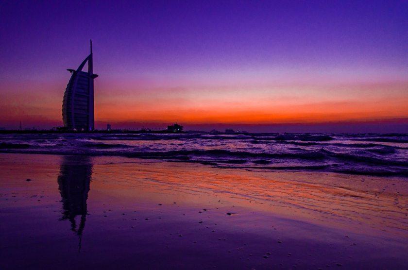 Dubai's iconic Burj AlArab