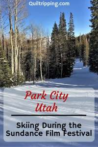 Our skiing experience during the Sundance Film Festival in Park City was very uncrowded #parkcity #utahskiing #skiing #utah