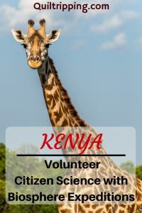 Experience a different side of Africa as a volunteer citizen scientist with Biosphere Expeditions in #kenya #biosphereexpeditions #citizenscience #maasaimara