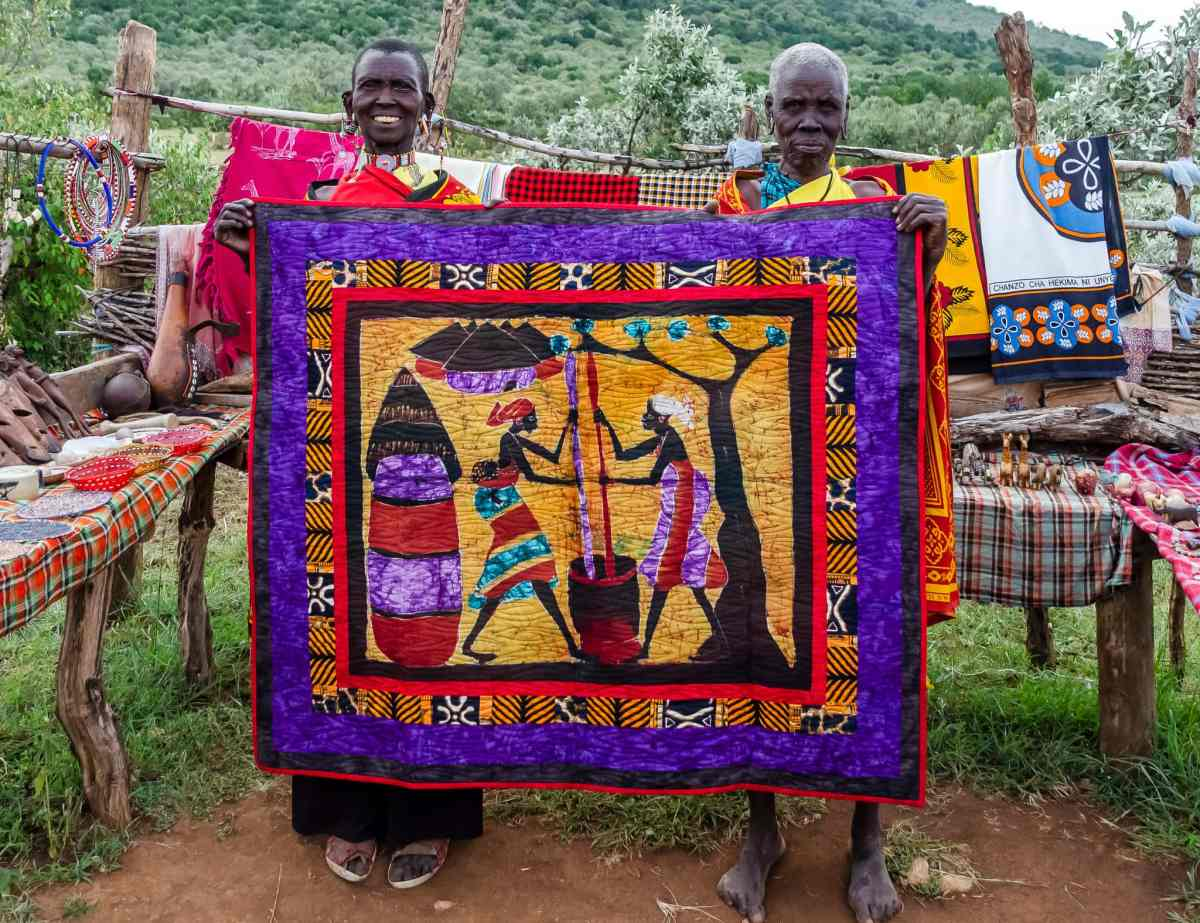 "'This Is Africa"" - Original Quilt Design"