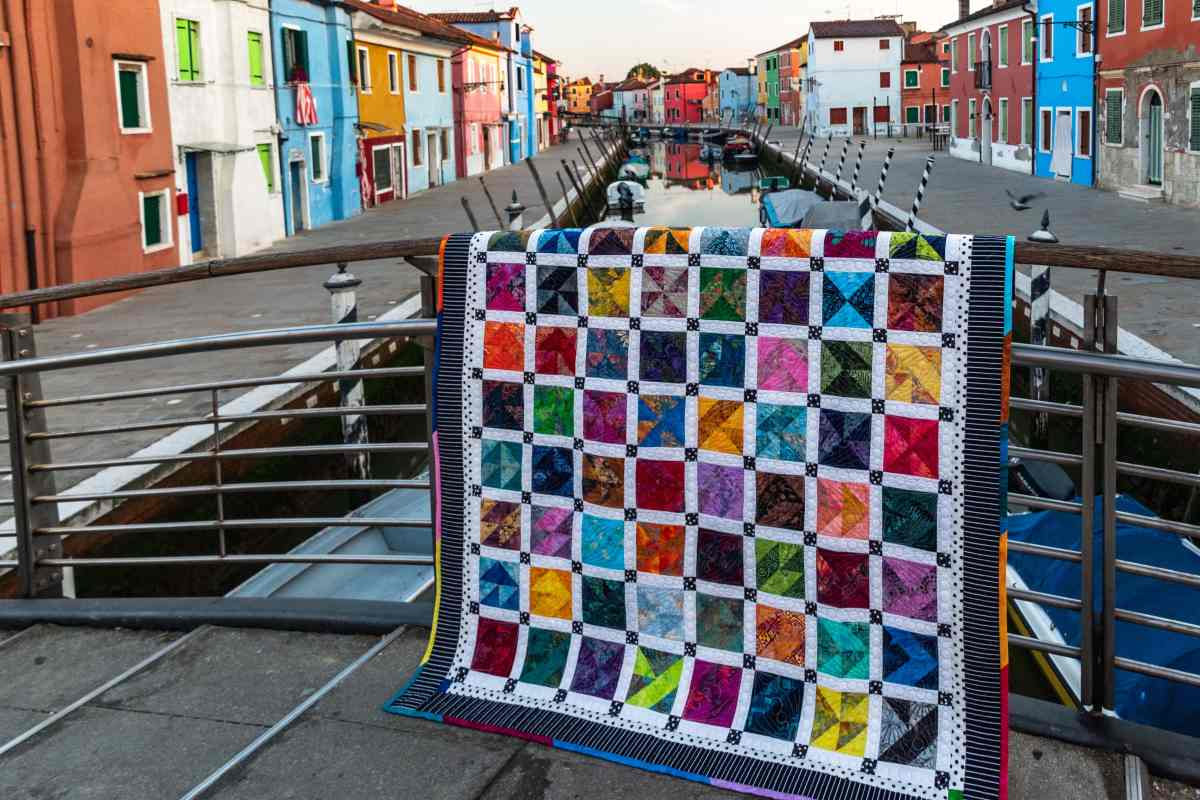 """Burano Sampler"" – An Original Quilt Design"