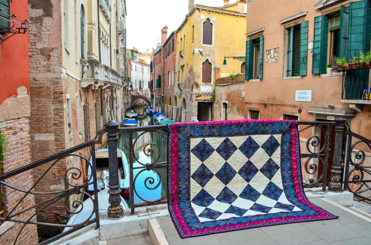 """Remembering Venice"" – Original Quilt Design"