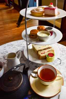 DSC0619 - The Botanical Kew Gardens Afternoon Tea Menu