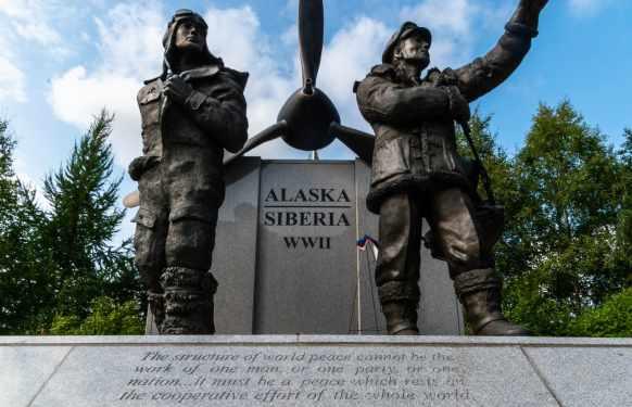 Alaska Siberia WWI memorial