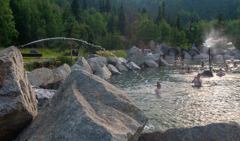 at th Chena Hot Springs