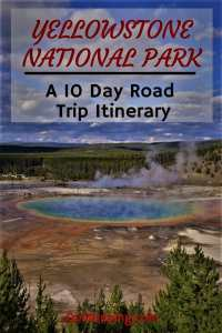 The perfect road trip itinerary from Salt Lake City to Yellowstone for a 10 day road trip #roadtrip #yellowstone #grandteton #wyoming