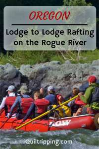Stay in lodges overnight while rafting on the wild and scenic Rogue River #oregon #rafting #rogueriver