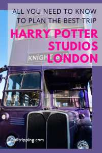 Here is all the information you need to plan a visit to the Harry Potter Studios