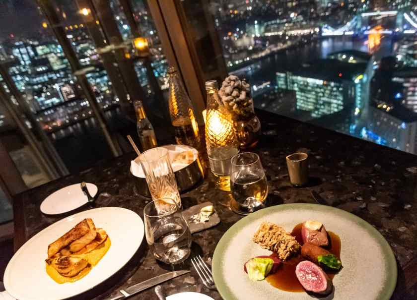 TING Restaurant at The Shard