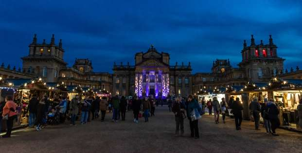 Blenheim Palace Christmas Market