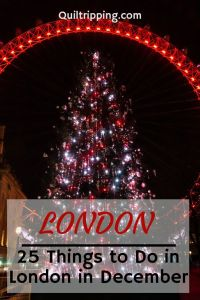 My list of 25 things to do in London in December to get into the holiday spirit #london #december #christmasinlondon