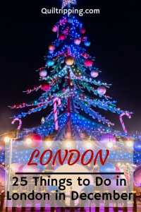 Experience the holiday season in London in December #london #december #christmasinlondon