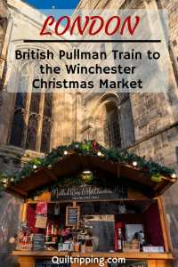 Get into the holiday spirit and take the British Pullman to the Winchester Christmas market #britishpullman #winchester #christmasmarket