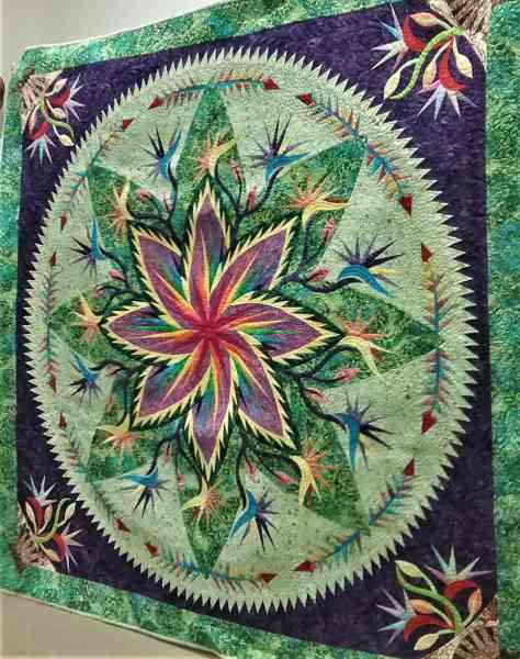 Taking a Quiltworx quilting class