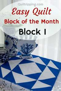 Join me for a block of the month using half square triangles #quilt #quilting #blockofthemonth #halfsquaretriangles