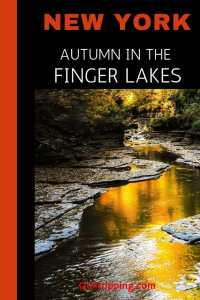 Discover the best things to do on a long weekend getaway in the Finger Lakes , NY in the fall