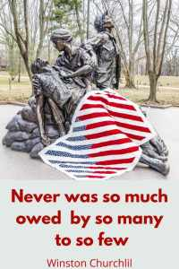 Never was so much owed by so many to so few - Winston Churchill