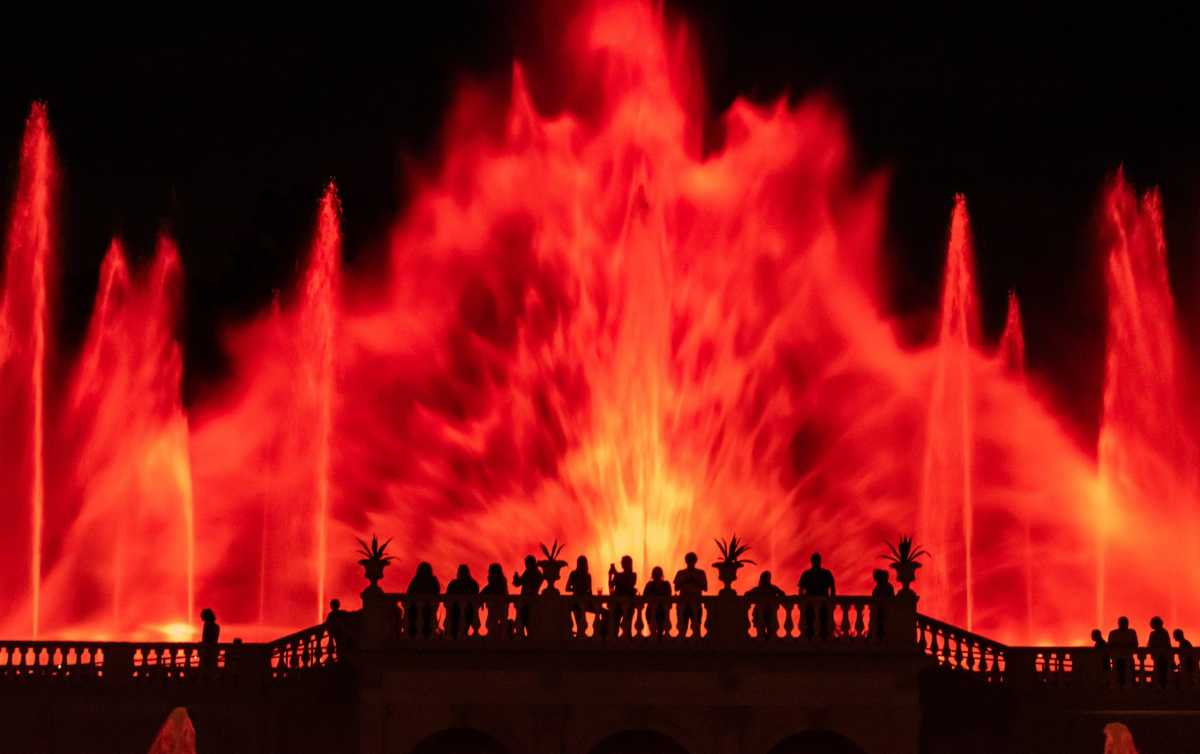 Longwood Gardens Fountain Display
