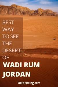Sharing my experience and tips for the best way to see the unique desert landscapes of Wadi Rum Jordan