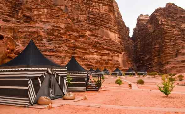 The Wadi Rum Luxury Night Camp