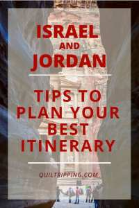 Everything you need to know to plan your best itinerary to the historic sights in Israel and Jordan
