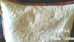 Custom Quilted, Pillow Shams