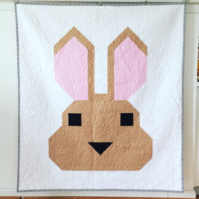 Easter Bunny Wall Quilt - Finished!!