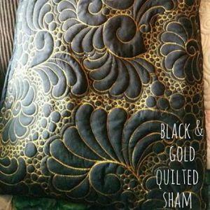 Black Pillow Shams