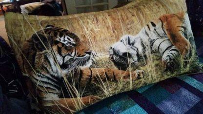 Tiger Pillow Sham, Custom Made