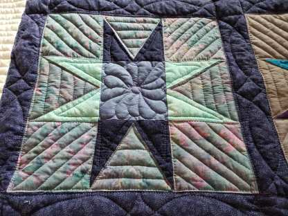 Custom Made Quilt for Sale