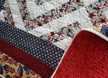 American Quilt 70 X 72