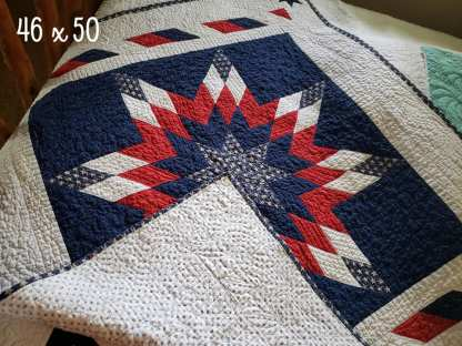Lone Star Quilt, Quilts by Taylor