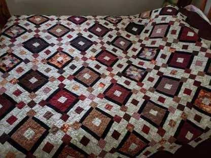 handmade quilt, queen quilt for sale