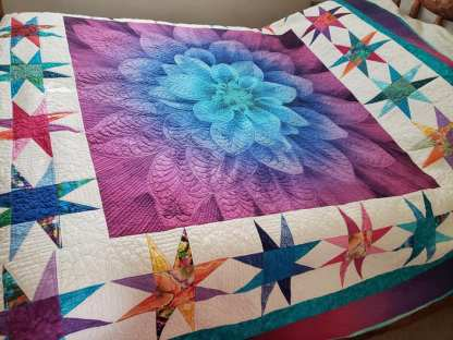 finished quilt for sale