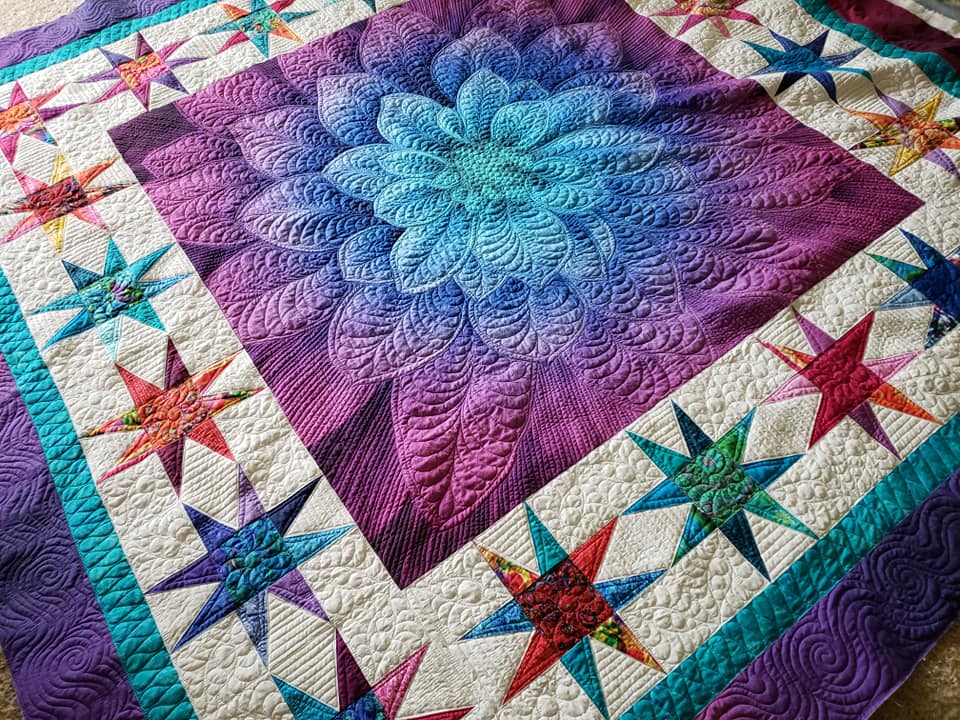 custom quilted quilts