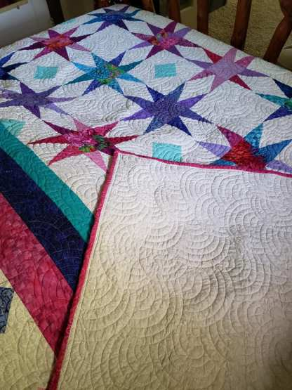 custom quilted quilt for sale