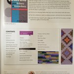 News about my book, friends in my studio and a new quilt