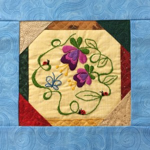 quilted block
