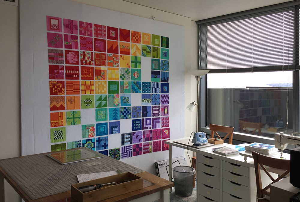 A small quilt studio
