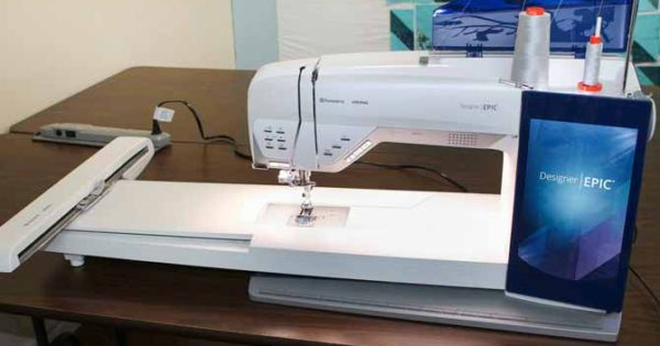 Easy to embroider on the Husqvarna Viking Designer EPIC