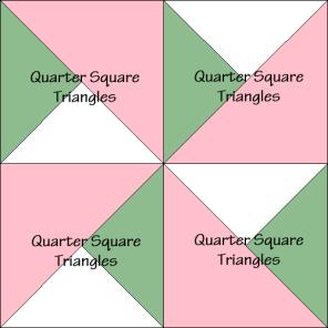 Double Pinwheel Quilt Block