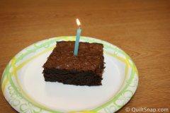 Celebration Brownie